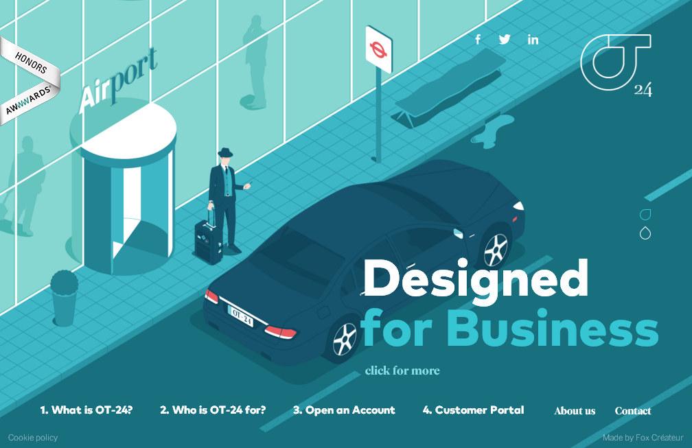 Тенденции веб-дизайна: яркие плоские цвета и анимированные иллюстрации