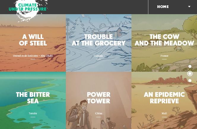 Интерактивные истории — тренд веб-дизайна в 2016