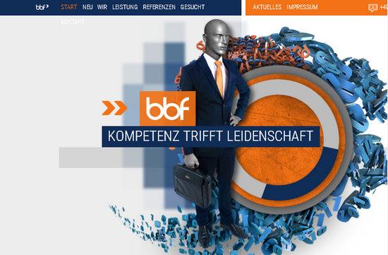 Лучшие дизайны мира - сайт на вордпрессе небольшой софт-компании из Германии