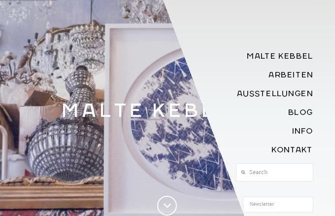 maltekebbel.de - обзор сайтов на WordPress шаблоне X Theme
