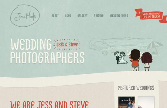 WordPress дизайн в современном ретро-стиле