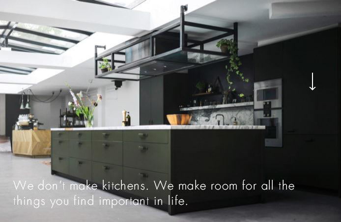 Голландский сайт на wordpress посвящен дизайну английской кухнии