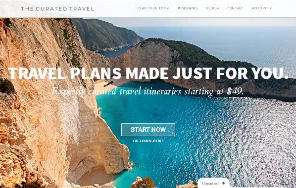 туристический сайт - тема X The Theme на WP
