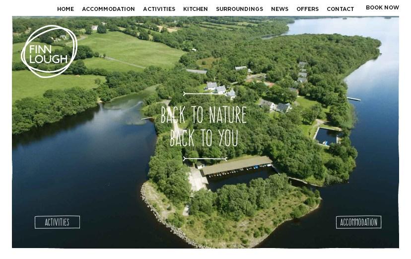 Примеры главной страницы сайта