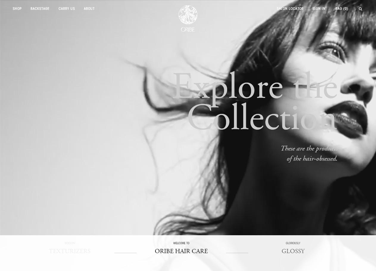 Продающий дизайн главной страницы: сайт косметического бренда с онлайн-магазином