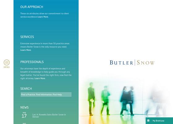 Пример красивого фирменного дизайна главной страницы сайта