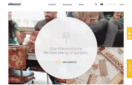 Сочетание главной страницы сайта с фирменным стилем – пример индивидуального подхода