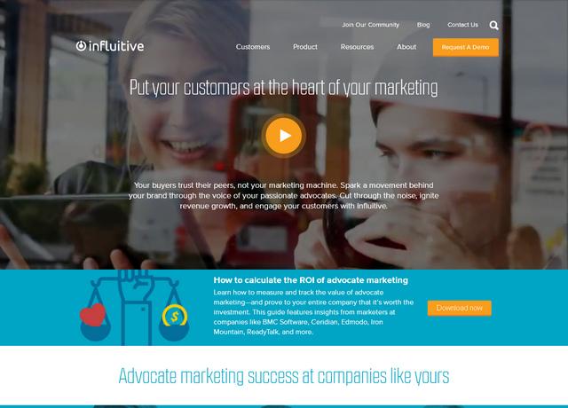 Яркий пример видеомаркетинга на главной страницы сайта