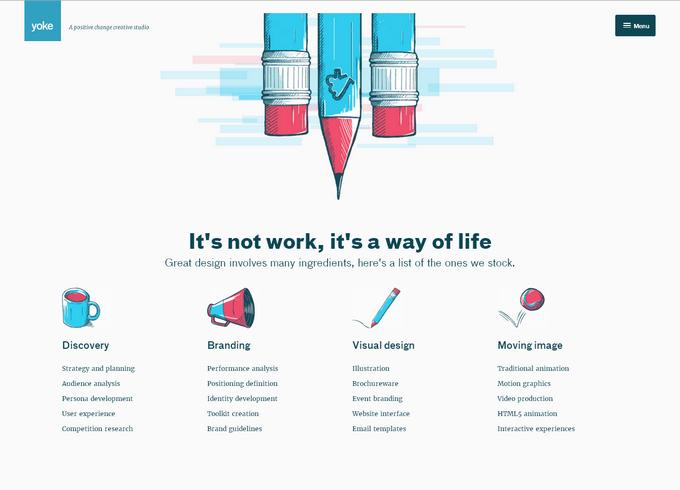 Основные тренды в дизайне сайтов на 2017 год