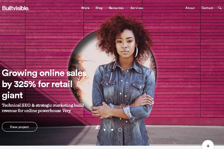 Пример материального дизайна на сайте - WEB тренды 2017