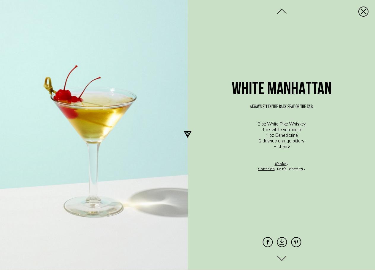 Тренды веб-дизайна 2017: разделенный экран. Пример с приятным оформлением