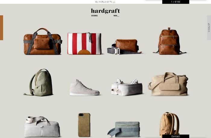 Продающий дизайн интернет-магазина: удобный в пользовании индивидуальный стиль с элементами Flat и Material Design