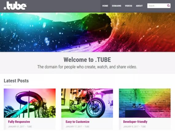 Бесплатная тема wordpress подойдет для видеоблога или эффектного сайта с видео
