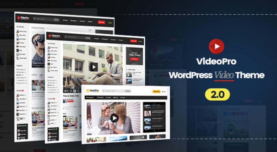 WordPress шаблоны: 32 лучшие видео-темы для оформления сайта вордпресс
