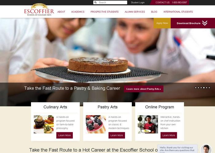 Зарубежный образовательный сайт-портал о кулинарии