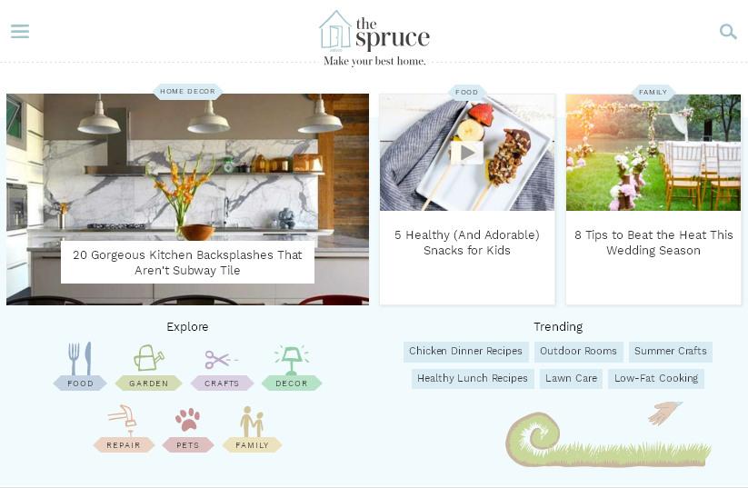 зарубежный интернет портал с кулинарными рецептами