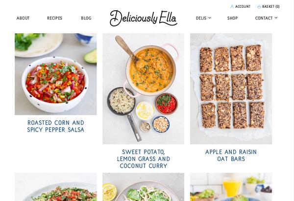 Популярный в буржунете английский кулинарный блог с интернет-магазином