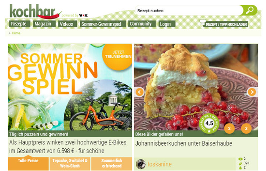 Лучшие зарубежные кулинарные сайты - немецкий блог о еде