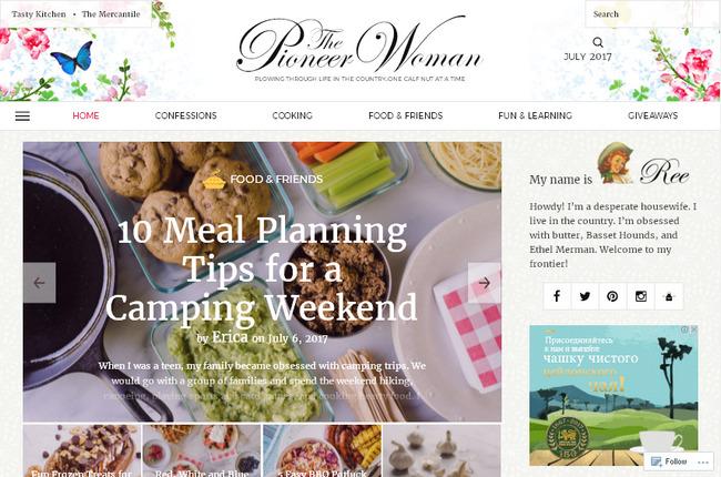 Лучшие зарубежные кулинарные сайты
