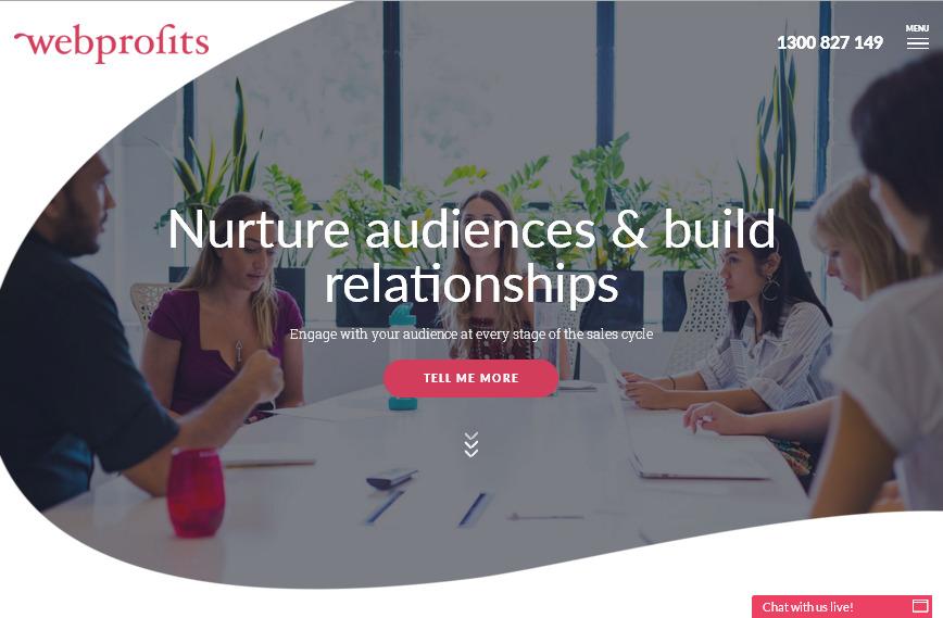 Яркий выразительный FLAT сайт агентства с эффективными округлыми кнопками призывов