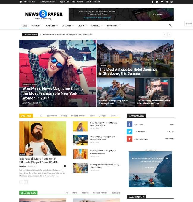 Лучшая тема wordpress оптимизированная для рекламы