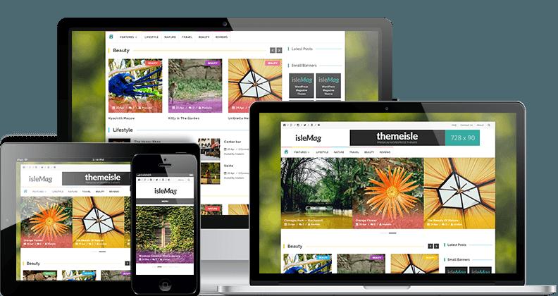 Бесплатная журнальные WordPress тема оптимизированная для рекламы Adsense