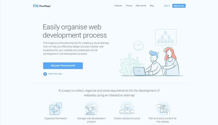 Тенденции в веб-дизайне: скетчи (рисунки от руки )