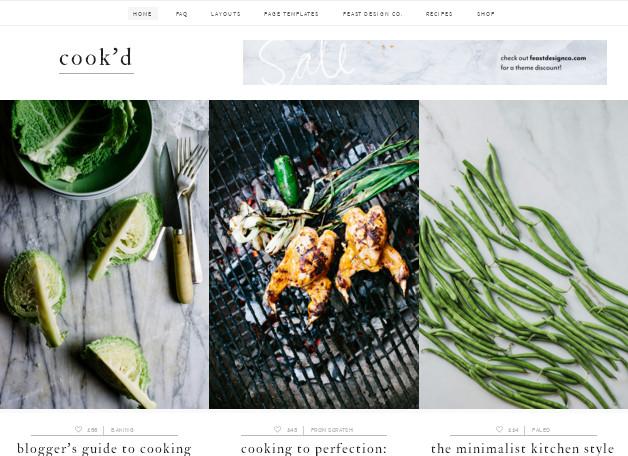 Красивая кулинарная тема WordPress, оптимизированная для SEO и заработка на рекламе Adsense