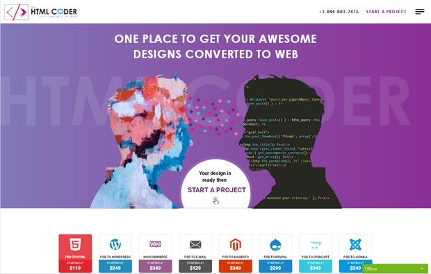 Яркие тенденции веб-дизайна