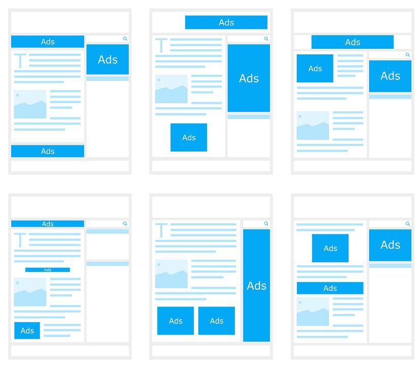 Как оптимально разместить рекламные блоки adsense для новостного сайта, журнала и блога
