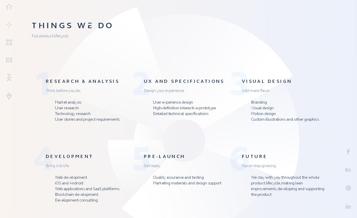 Тенденции в дизайне сайтов 2018 года: создание глубины тенью