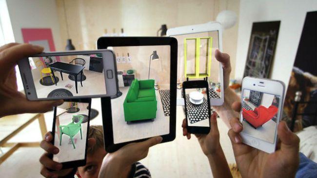 Web дизайн тренд 2018: дополненная реальность