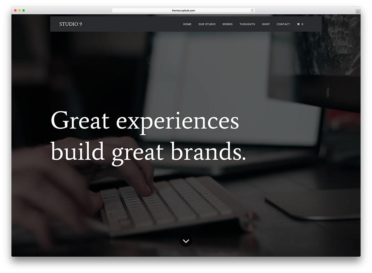 Многоцелевая WordPress тема на HTML5