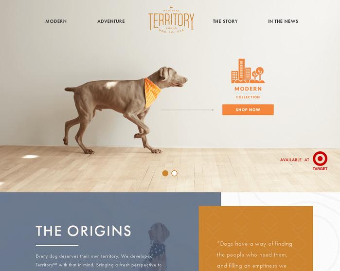 Модный дизайн веб-сайта: приятное оформление и современный макет