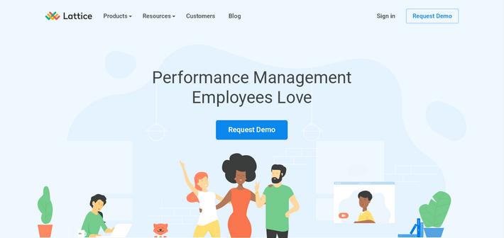 Современный веб-сайт с приятным дизайном элементов UI и flat-иллюстрациями