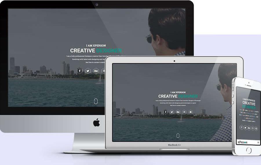 Бесплатная тема Вордпресс премиум качества для резюме, портфолио, коммерческого и персонального сайта