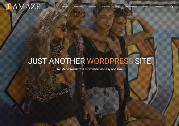 Красивые бесплатные портфолио темы WordPress премиального качества