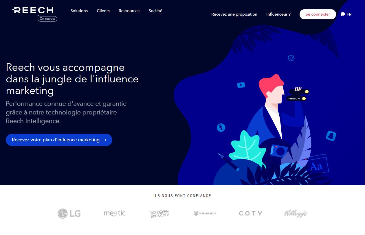 Примеры сайтов с плоскими иллюстрациями в дизайне