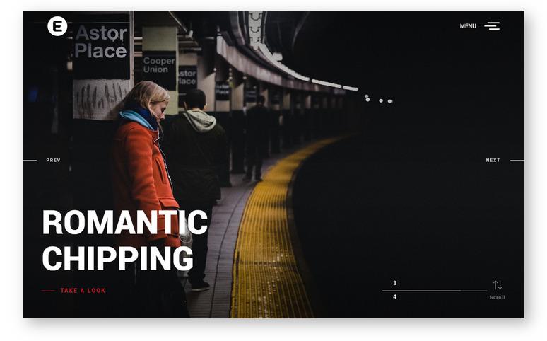 Emily Nolan – адаптивный WordPress шаблон на основе Bootstrap для персонального портфолио фотографа