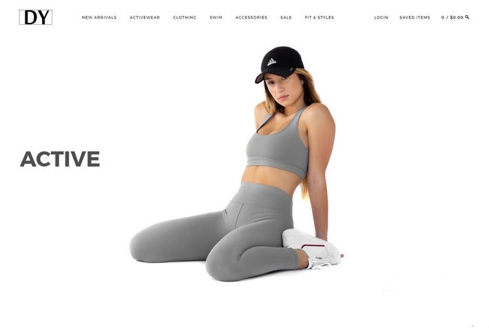 Disruptiveyouth.com - эффектный интернет-магазин летней одежды и купальников сделан на wordpress