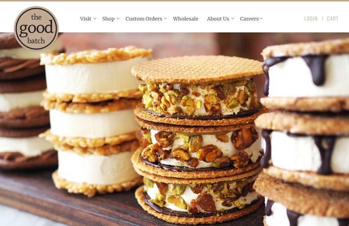 Примеры WooCommerce: вкусный дизайн интернет-магазина пекарни из Нью-Йорка - The Good Batch