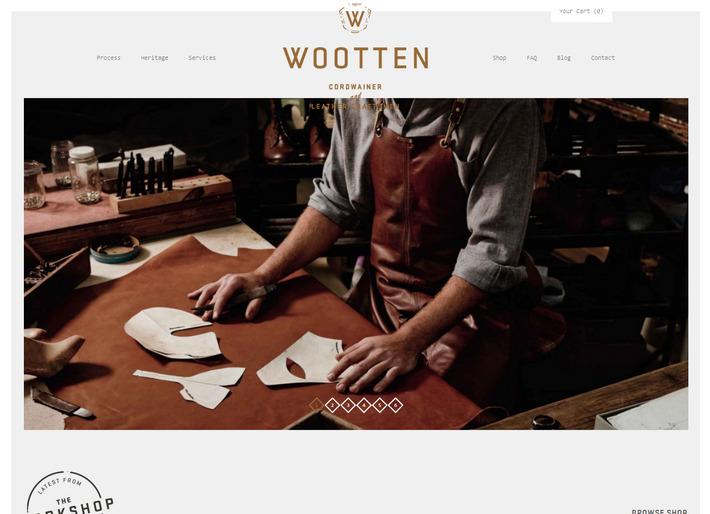 Oригинальный e-Commerce сайт, сделанный на вордпрессе