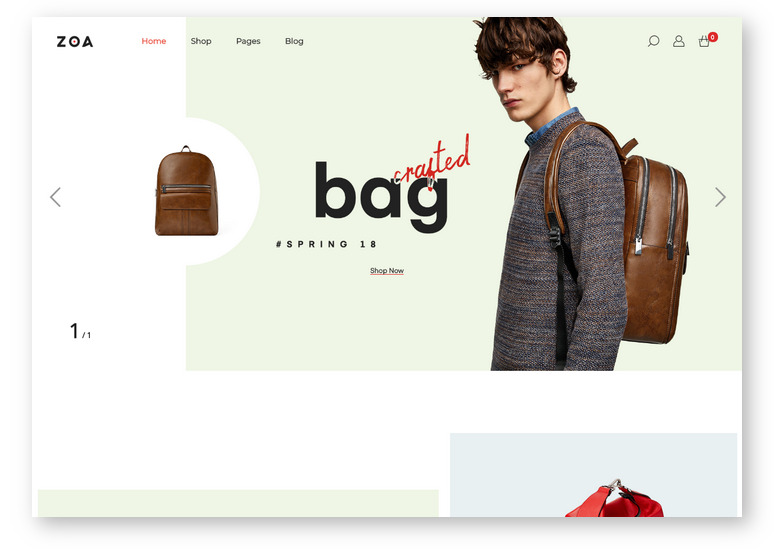 Elegant WooCommerce Theme powered by Elementor Designer