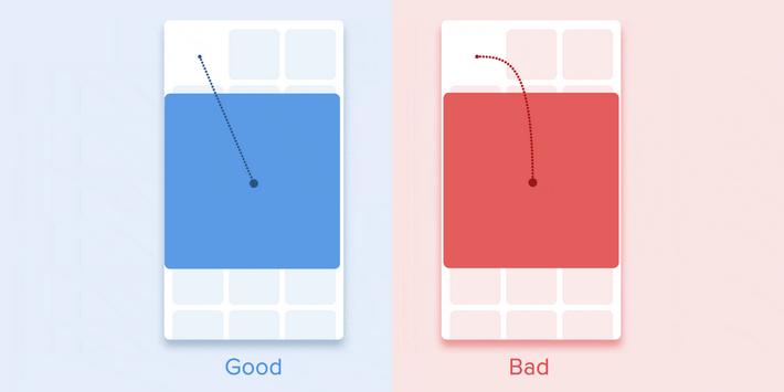 Прямолинейное перемещение объектов - правильный способ анимирования пропорционально изменяющихся объектов