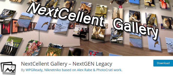 NextCellent Gallery - лучшие плагины для галереи на WordPress