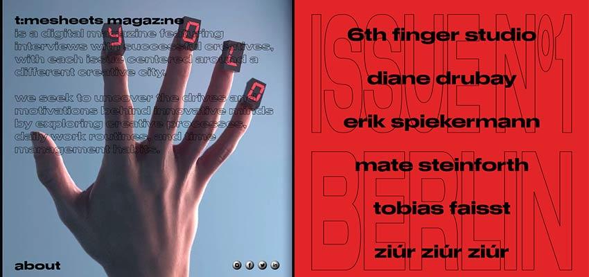 Оригинальное и креативное применение типографики в веб-дизайне