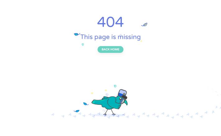 404 страница: пернатый детектив за работой