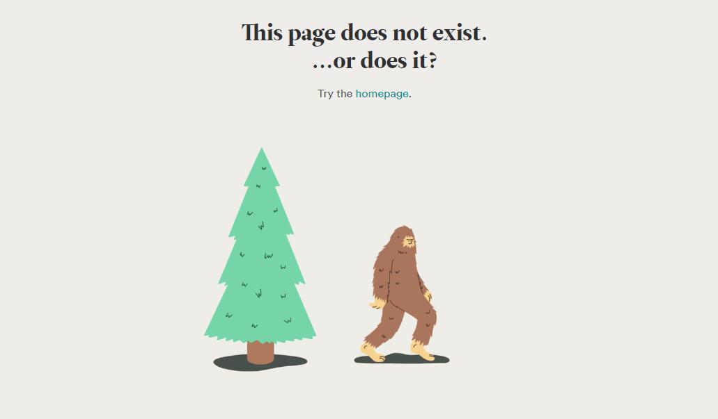Мульти-дизайн 404 страницы сайта компании с бухгалтерскими услугами